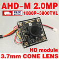 3000TVL 1920*1080 P 3.7 мм AHD 2.0 Мегапиксельная HD MINI CCTV Камеры Модуль Платы CMOS V30E + GC2023 острый конус ОБЪЕКТИВ скидка