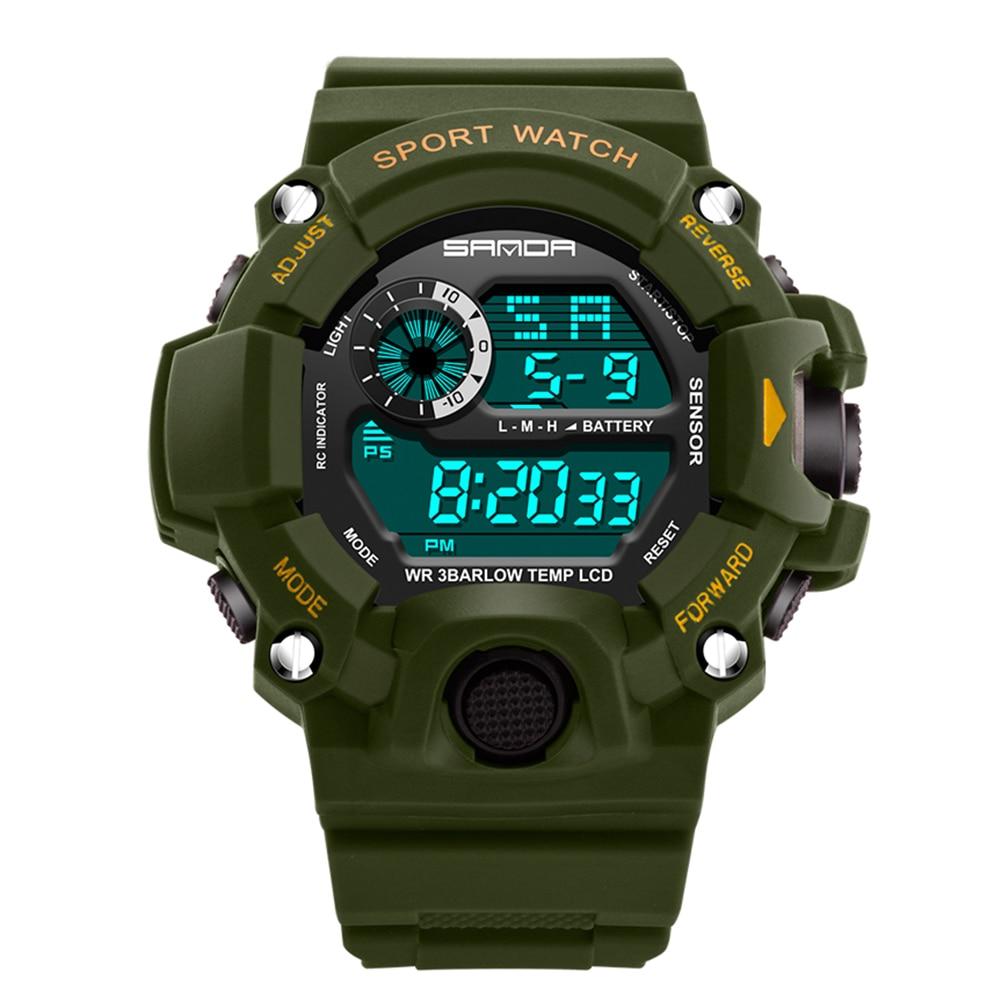 2017 MenTop Luksusowe cyfrowe zegarki Moda elektroniczny zegarek - Męskie zegarki - Zdjęcie 3