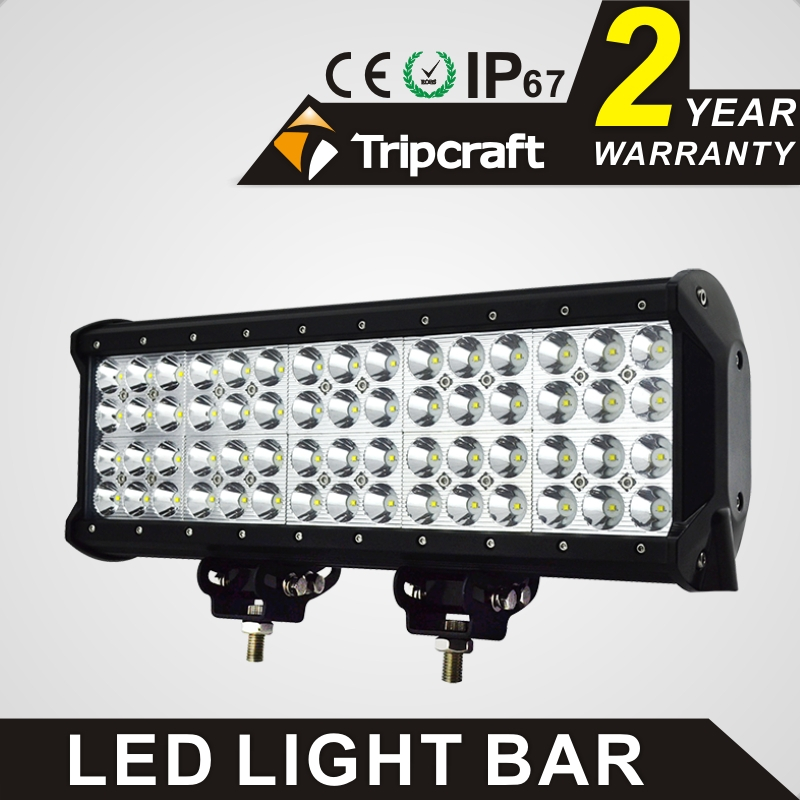 TRIPCRAFT 180W LED WORK LIGHT BAR Quad Row Spot flood combo beam car driving lamp for offroad 4x4 truck ATV fog lamp 14.57inch spot flood combo 72w led working lights 12v 72w light bar ip67 for tractor truck trailer off roads 4x4 led work light