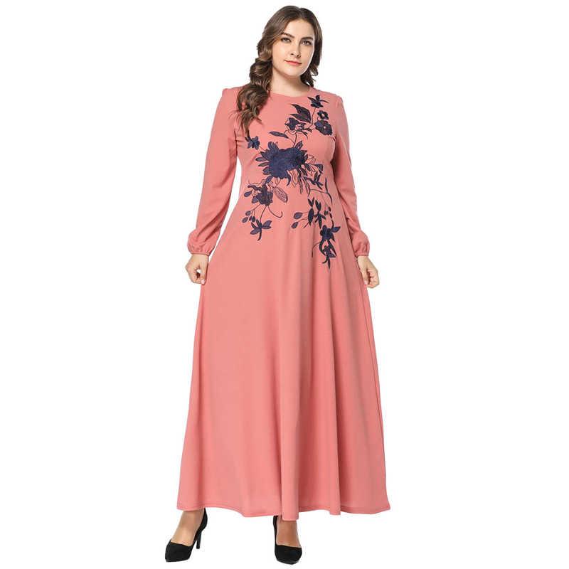 97877968185c2 Detail Feedback Questions about Muslim Denim Shirt Dress Women Dubai ...