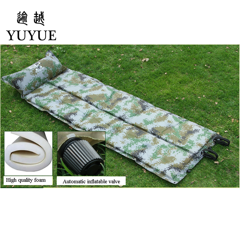 Waterproof The Inflatable Mattress For Outdoor Camping Cheap Mattress Stores For Sleep Inflatable Bed Camouflage Air Mattress  1