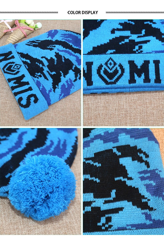 Brand Beanies Skully Winter Hat Knitted Caps (7)