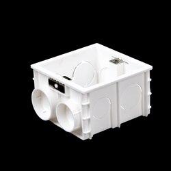 1pcs 90*80*50mm Plastic Livolo UK Standard Internal Mount Box for 86mm*86mm Standard Wall Light Switch