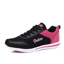 2017 Summer Best Walking Shoes For Women Mesh Breathable Ladies Athletic Shoes 6 Colors Jogging Trainers Cheap Ladies Sneakers