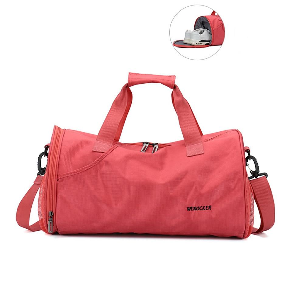 Women Men Gym Bag for Fitness Yoga Bag Outdoor Fishing Swimming Travel Sport Bags Training Shoulder Handbags Sac De Duffel Bolsa