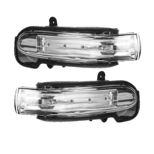 Car Side Marker Light Door Wing Rearview Mirror Turn Signal Indicator For  Mercedes Benz W203 4Door 2004 2007