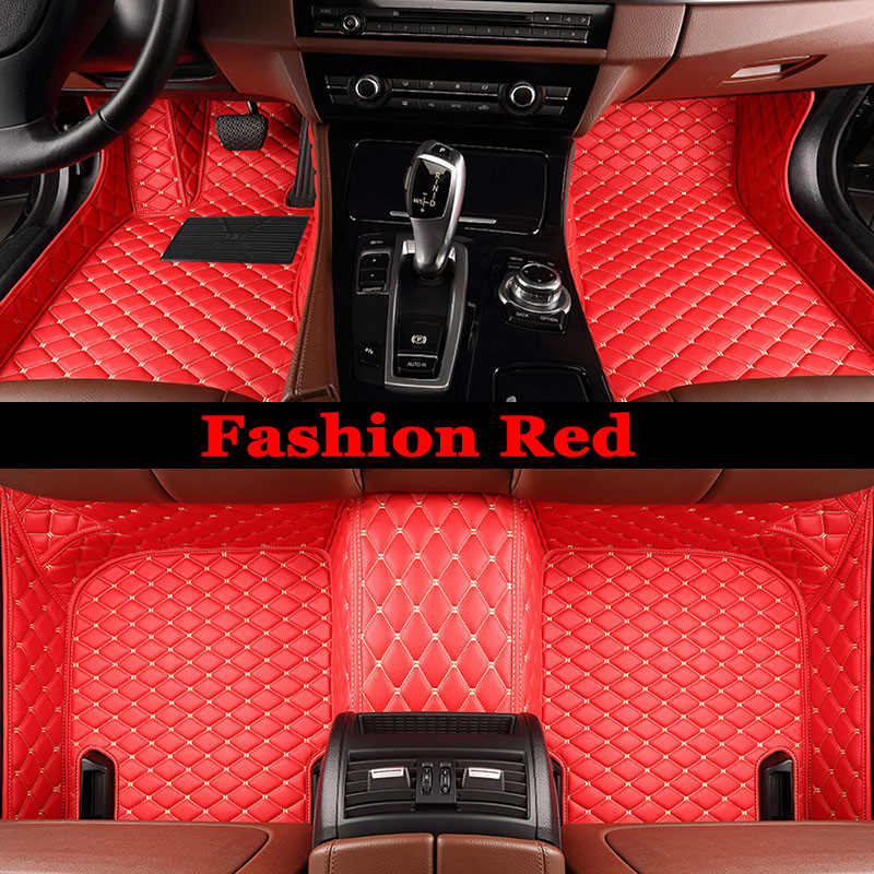 ZHAOYANHUA Special made car floor mats for Kia Sportage Optima K5 Sorento Carens 5D full cover case high quality carpet liners