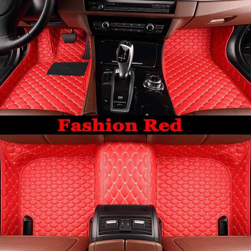 ZHAOYANHUA alfombrillas especiales de coches para Kia Sportage Optima K5 Sorento Carens 5D cubierta completa alta calidad alfombra liners