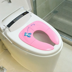 NewCute Cartoon Baby Reizen Potje kinderen Urinoir Trainer Kids Training Wc Stoelhoezen Baby opvouwbare wc veiligheid wc