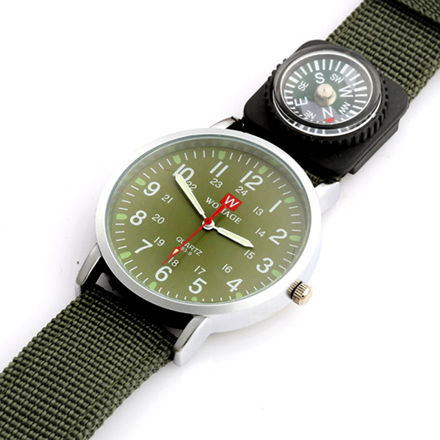 2018 Womage Watches Fashion Kid Boys Watches Nylon Watch Outdoor Sport Watches F