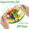 299 nivel Mágico 3D Bola Laberinto perplexus bola intelecto mágico juguetes educativos de Mármol Juego de Puzzle IQ juguete Equilibrio