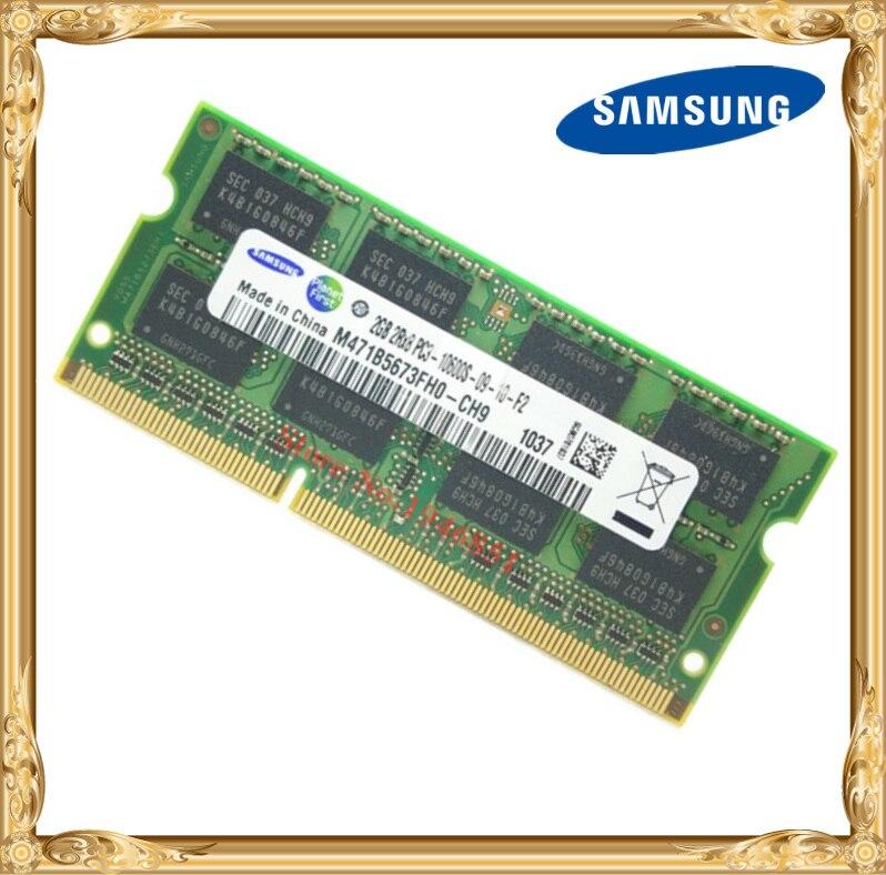 Samsung mémoire D'ordinateur Portable DDR3 2 GB 1333 MHz PC3-10600 ordinateur portable RAM 10600 S 2G