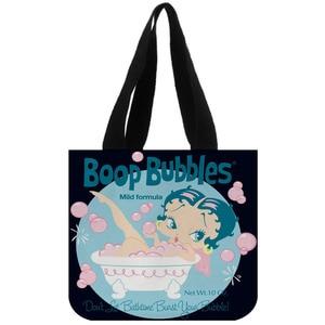 Image 3 - Tote Tasche Baumwolle Leinwand Benutzerdefinierte Betty Boop Einkaufen Faltbare Mehrweg Schulter Kunden Mit Eigenen Logo Großhandel
