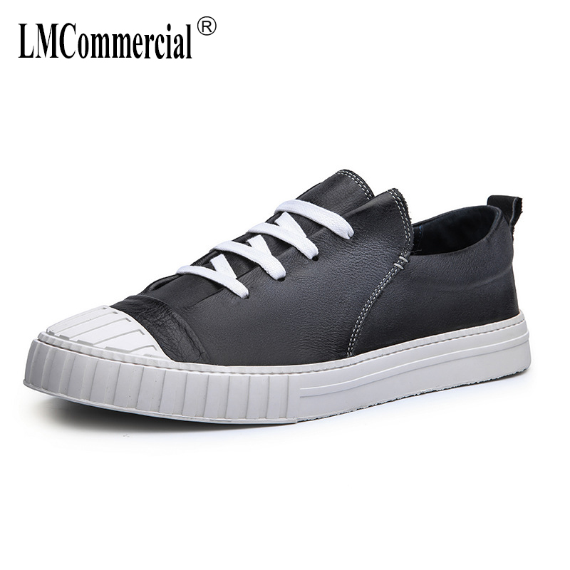 men's shoes spring autumn summer British retro men shoes all-match cowhide breathable sneaker boots casual Genuine leather shoes autumn winter european british retro men shoes male leather breathable sneaker fashion boots men casual shoes handmade fashion