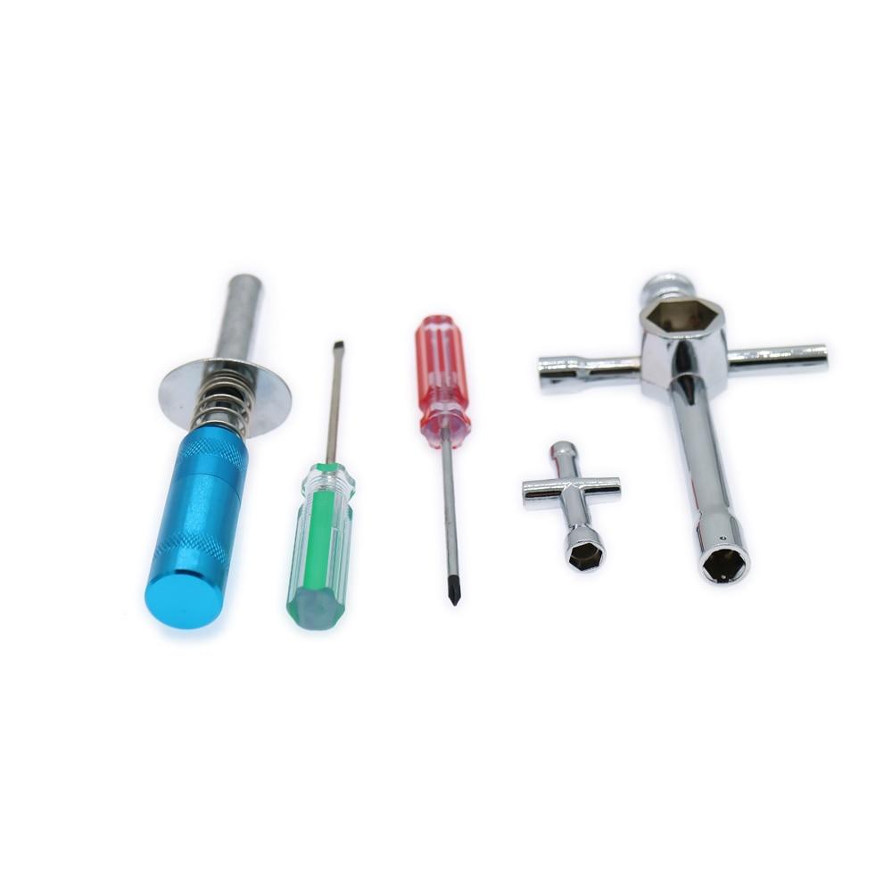 Nitro Starter Tools Kit Set for R/C Hobby Model Car HSP Spare parts KIT 80142 80144 80143 Cross Sleeve Flat screwdriver Alloy