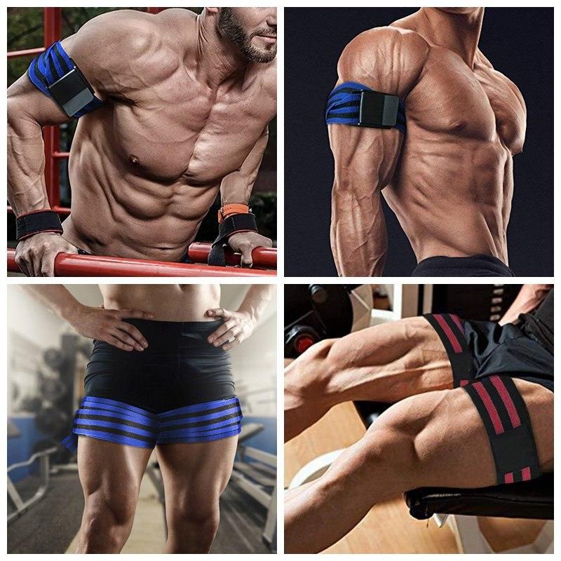 Flow Resistance Bands Fitness Arm Leg Muscles Builder Gym Training