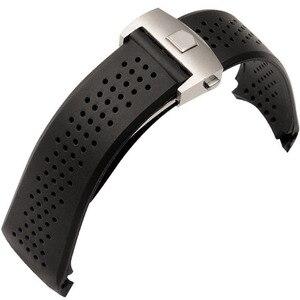 22mm 24mm TOP Rubber Watchband