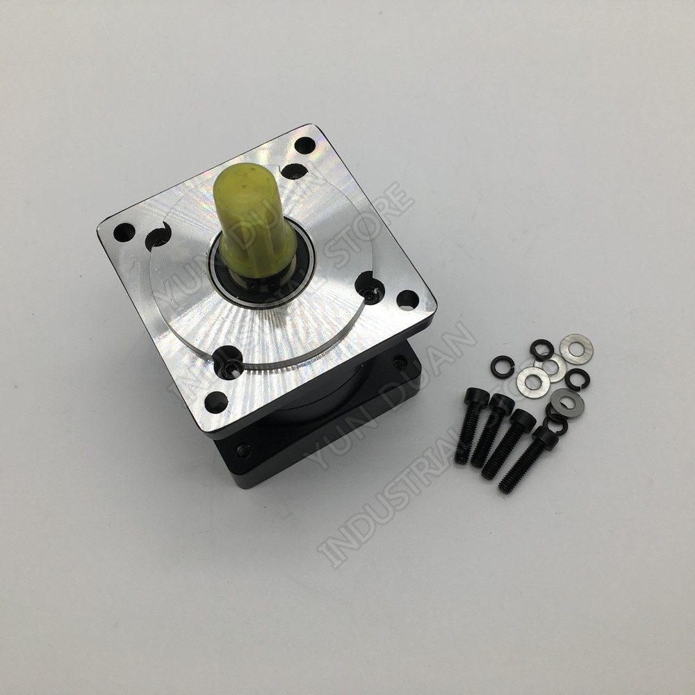 Planetary Gearbox Speed Reducer 6:1 Ratio 80mm Nema32 Shaft 19mm Carbon Steel Gear  3000rpm for Servo Stepper MotorPlanetary Gearbox Speed Reducer 6:1 Ratio 80mm Nema32 Shaft 19mm Carbon Steel Gear  3000rpm for Servo Stepper Motor