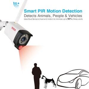 Image 3 - Tonton bezprzewodowy System CCTV 1080P dysk twardy o pojemności 1TB 2MP 8CH NVR nadzoru wideo nagrywanie dźwięku czujnik PIR na zewnątrz zestaw kamery przemysłowej