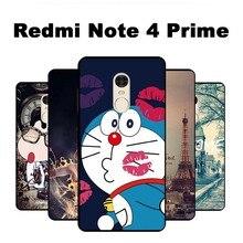 Для xiomi xiaomi redmi note 4 премьер про телефон сумки случаи новая мода мягкие tpu силикона черный мультфильм живопись case cover jp-2