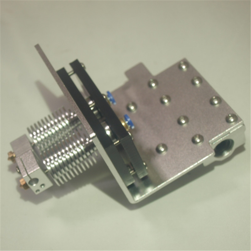 Reprap Prusa i3 X axis bowden dual hot end + X Metal exturder carriage kit 1,75 мм Prusa dual bowden экструдер carriage