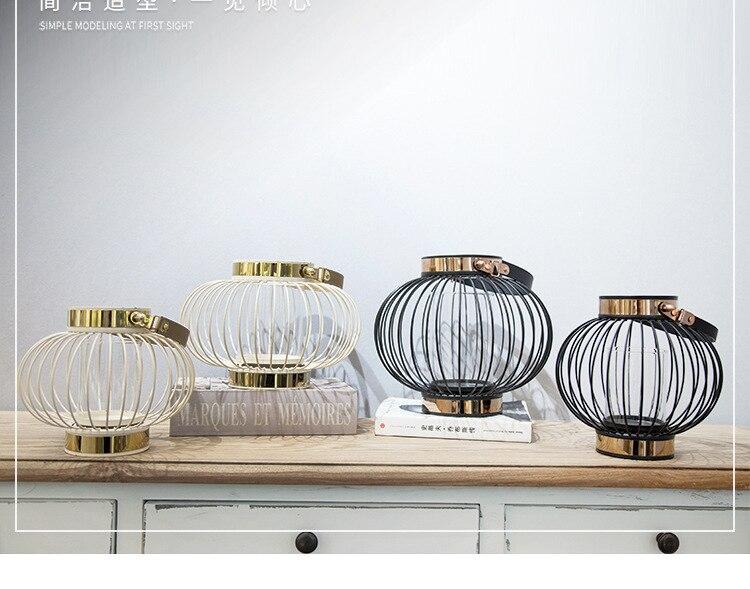 Europese kaarshouder minimalistische nieuwe rvs kandelaar