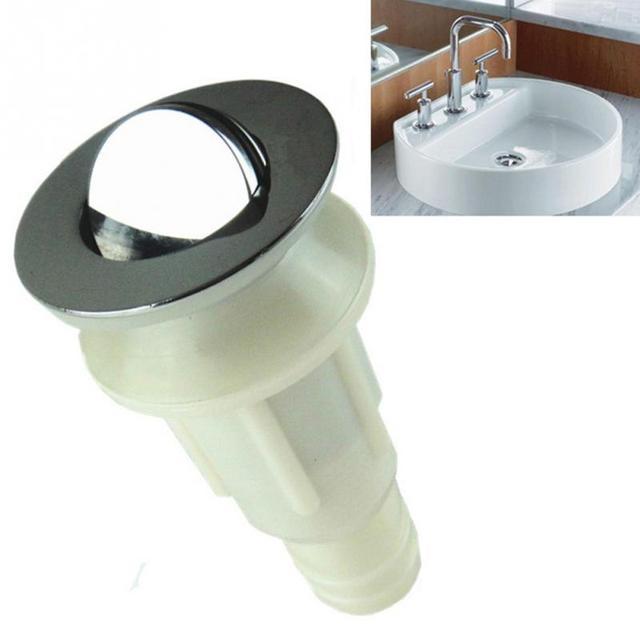New 60*128mm Basin Sink Drain Pop Up Waste Vanity Kitchen Sink Drain ...