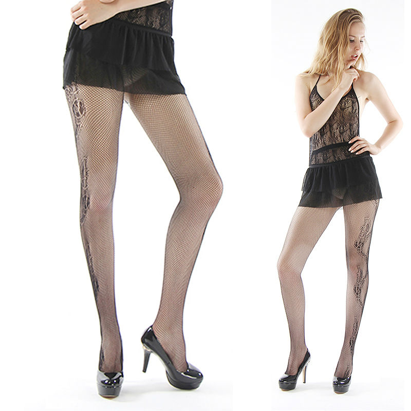 ece71d2155d Detail Feedback Questions about women stockings sexy mesh jacquard tattoo small  net solid Fishnet Pantyhosenight club stockings Thigh High Silk Stocking  141 ...