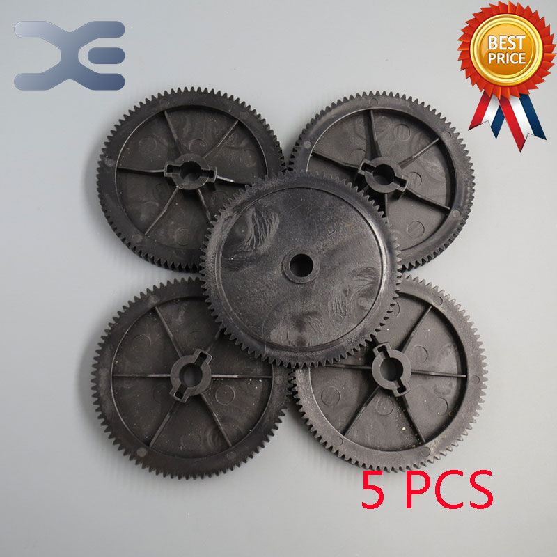 5PCS/Set Meat Grinder Parts Gear Plastic Gear Teeth 84 Gear Diameter 25.95mm Bore Diameter 9.8mm New Unused Free Shipping microwave oven accessories plastic parts diameter 34 3mm length 29 3mm new unused free shipping