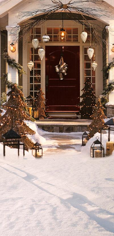 allenjoy free shipping 5ft 7ft 150cm 215cm photography backdrops christmas snow tree bell villa. Black Bedroom Furniture Sets. Home Design Ideas