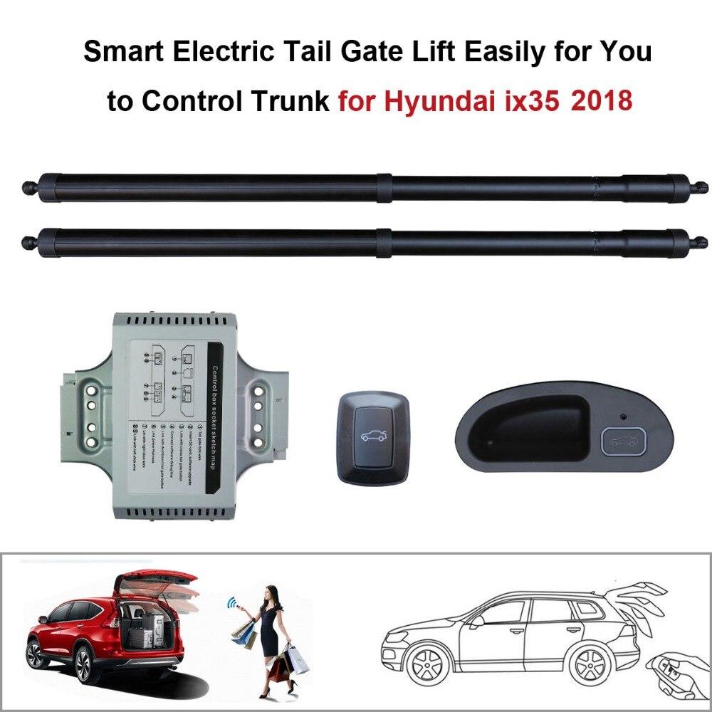 Ascenseur électrique de porte de queue de voiture pour Hyundai iX35 2018 avec la fonction de verrou réglée la hauteur évitent le pincement