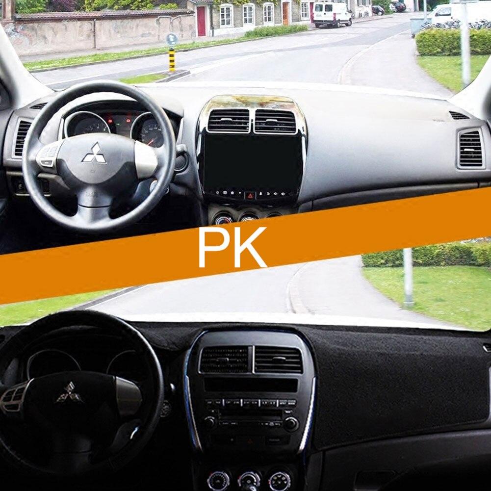 Vehemo силиконовый коврик для приборной панели из войлока, Солнцезащитная Накладка для машины, запчасти для двигателей, черный авто интерьер, запчасти для грузовика, крышка приборной панели