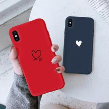 Silicone For One plus 5T 6 6T 7 Pro Heart Love Cute Matte Candy Phone Case Cover Capa For Oneplus 7 Pro 7Pro Fundas Coque Couple