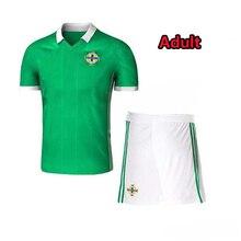 02af184db06 2018 Northern ireland world cup Jersey McNAIR home green away white K  LAFFERTY DAVIS Northern ireland soccer kit Sets