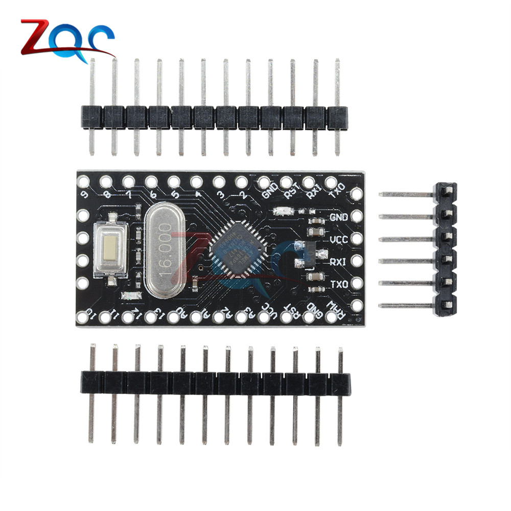 Pro Mini Module Atmega168 16m 5v With Crystal Oscillator For Arduino Using Ttl Nano Replace Atmega328 In Instrument Parts Accessories From Tools On