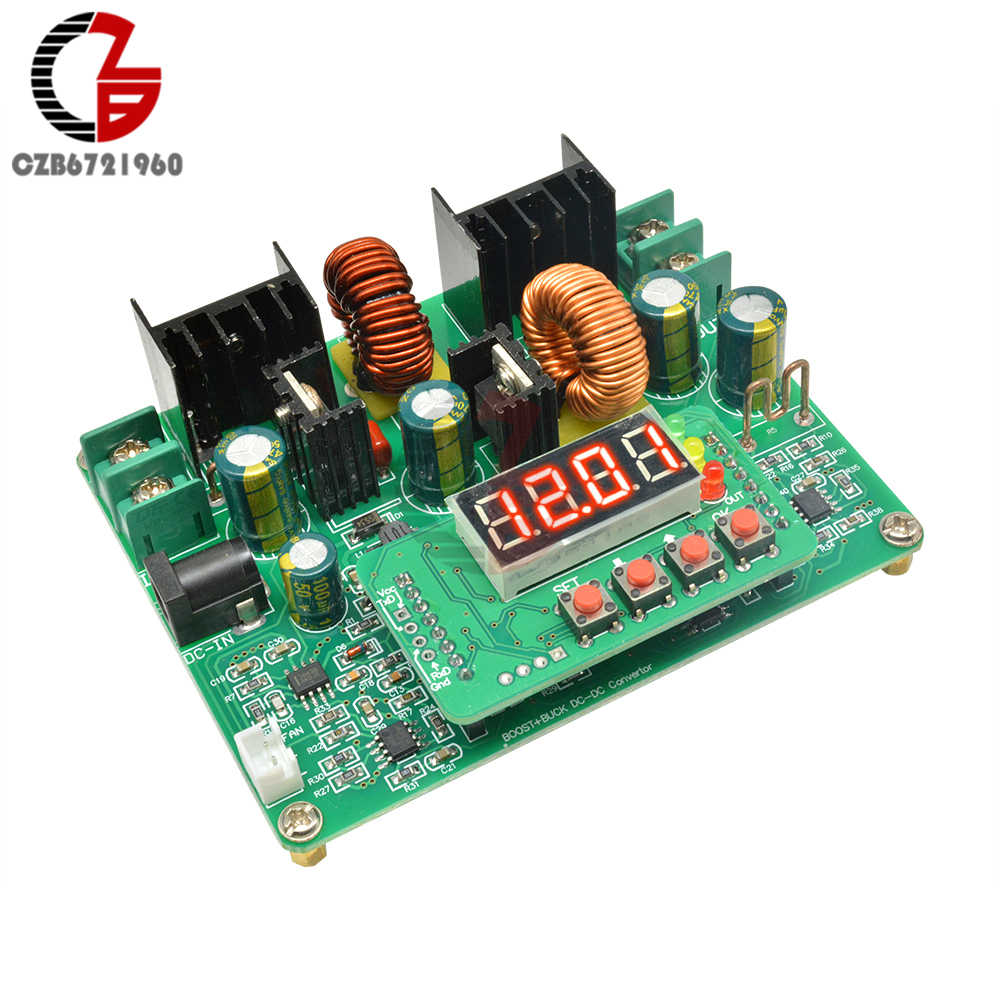 DC-DC 38V 6A Digitale Led Display Boost Module Voltage Step-Up Step-Down Power Module Boost Buck converter Transformator Board