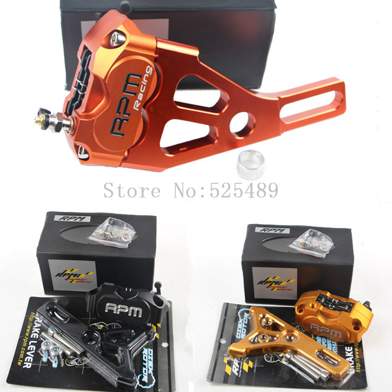 RPM Brand CNC Brake Caliper+220mm Disc Brake Pump Adapter Bracket Sets For Yamaha Electric Motorcycle Scooter BWS Zuma Aerox RSZ keoghs motorcycle brake disc brake rotor floating 260mm disc cnc aluminum alloy for yamaha scooter bws 125 cygnus modified