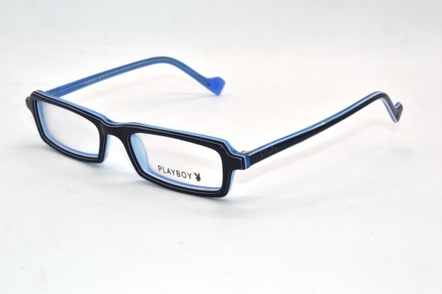9c1f324f5c Blue Charming plate optical frames Narrow Suitable higher degree Custom  Made Prescription myopia glasses Photochromic -