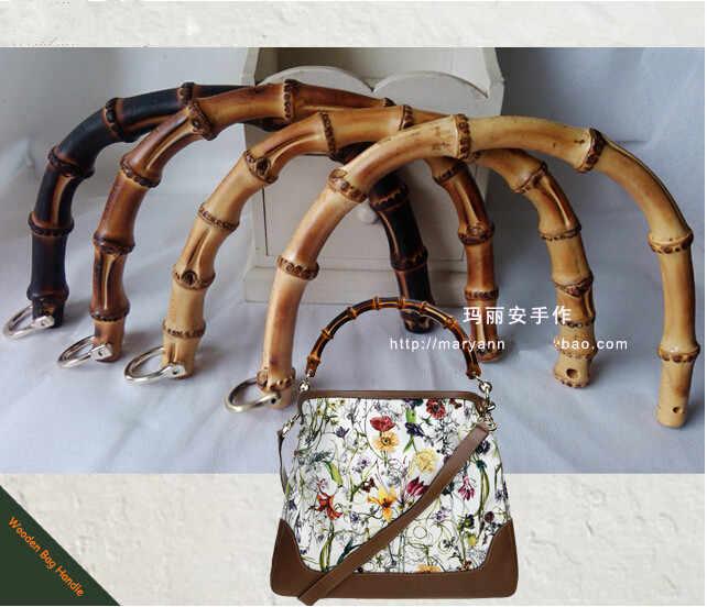 2016 China Aliexpress DIY Bamboo Purse Handle Wholesale Bag Accessories  Elegance Bamboo Bag Handle 3dbf206391194