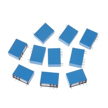 10 Pcs SMIH-05VDC-SL-C Power Relays 5V 16A 8 Pins 1 pcs srsb 05vdc sl a 5v 5a 250vac 4pin songle relays