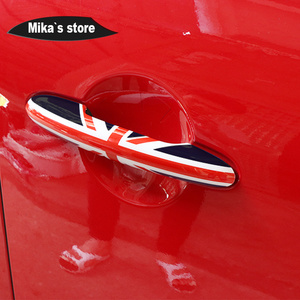 Image 4 - For Mini cooper F55 F56 F54 F57 F60 Countryman Car Styling Exterior Door Handle Cover Trim Protective Case car accessories JCW