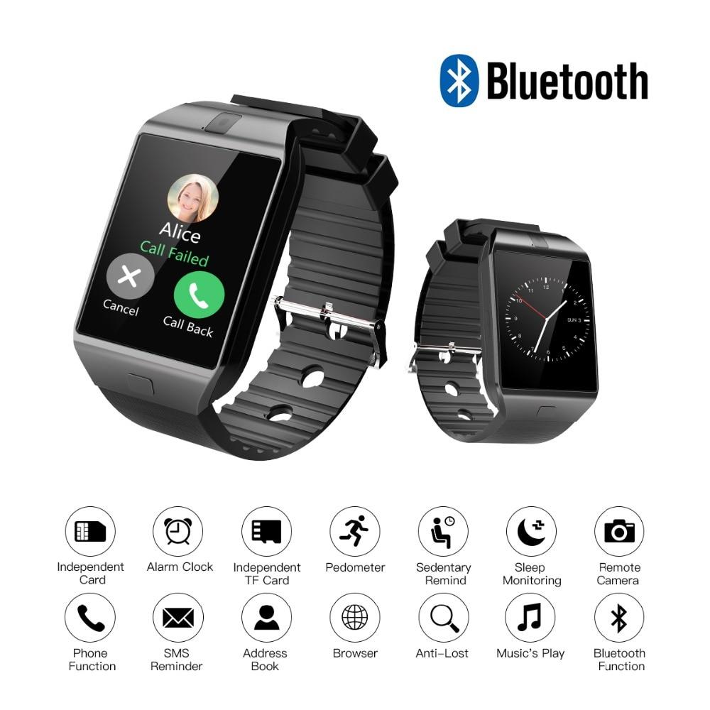 Cawono DZ09 Smart Watch Bluetooth Smartwatch Relogio TF Tarjeta con - Electrónica inteligente - foto 5