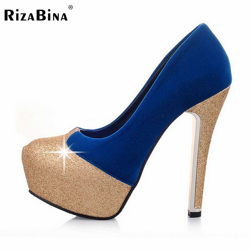 ФОТО women thin high heel shoes  lady suede platform sexy spring pumps heeled footwear heels shoes size 33-42 P16140