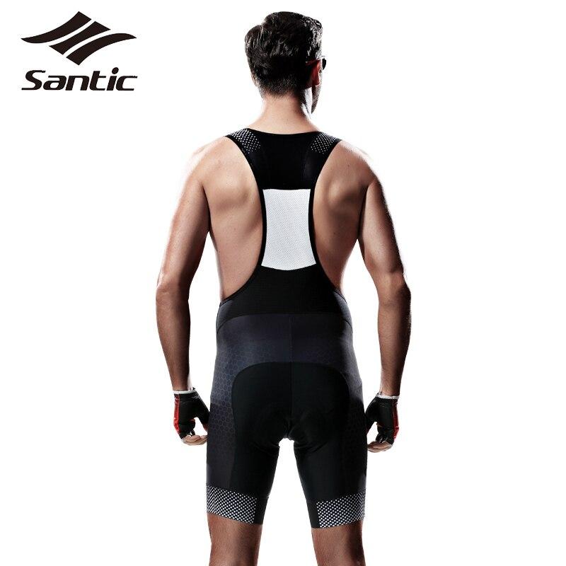 Buy Santic Cycling Bib Shorts Gel Pad Breathable