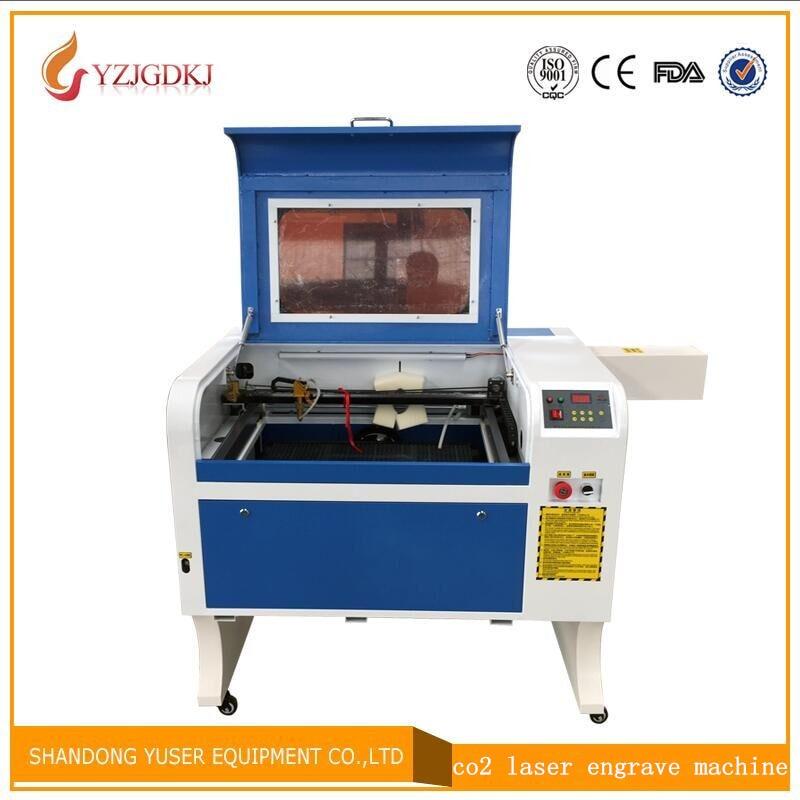 100 Вт лазер бесплатная доставка 4060 лазерная гравировка 600*400 мм Co2 лазерной резки специфика для фанеры/ акрил/дерево/кожа