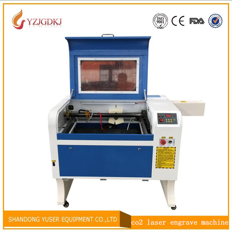 100w Laser Free Shipping 4060 Laser Engraving 600*400mm Co2 Laser Cutting Machine Specifical For Plywood/Acrylic/Wood/Leather