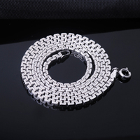 Silver fashion male necklace s925 silver necklace great wall Men chain personality chain