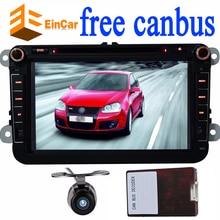 Автомобиль Android-DVD GPS навигации плеер для Volkswagen Golf 5 6 поло jetta Touran Passat CC Caddy автомобиль Авторадио GPS навигация FM