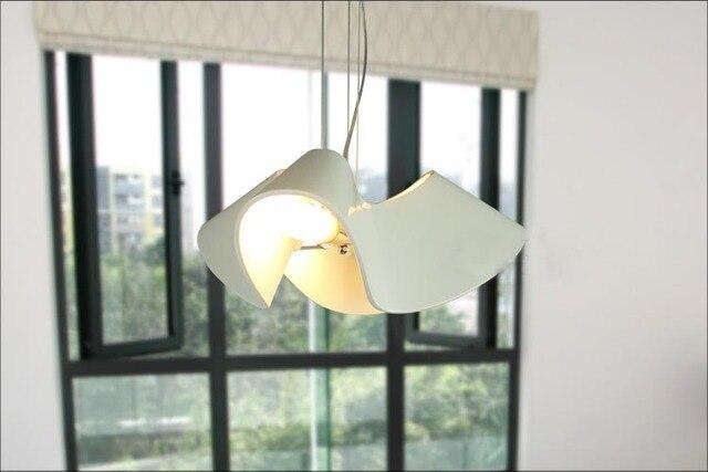 Hanglamp Slaapkamer Design : Moderne nordic witte hars hanglamp led e bollen droplight