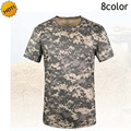 Outdoors ESDY Men Stretch Camouflage Short Sleeve Army Military Combat Tactical Top Mens Pythons Texture Quick Drying UV Tshirt